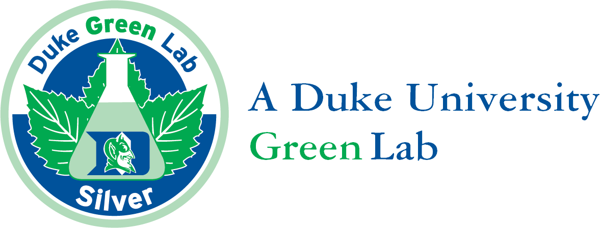 We are a Duke Green Lab